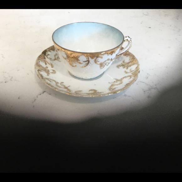 Vintage Other - Vintage Antique Cup & Saucer Set